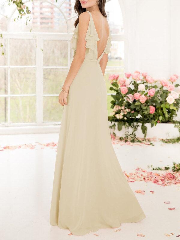 Champagne Bridesmaid Dresses