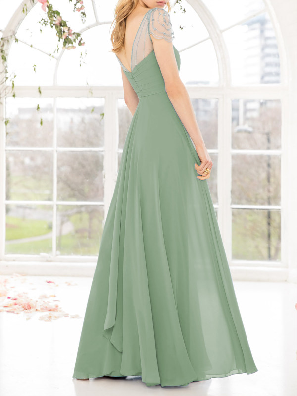 Sage Green Bridesmaid Dresses