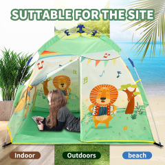 kids Automatic Tent Pop-up Field Children Waterproof Outdoor Camping Tent Lightweight Portable Backpacking Tent Instant Easy Setup for Travel