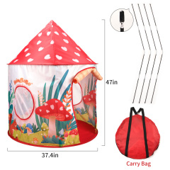 Kids Play Tent Portable Foldable Pop Up Tent Princess Castle Tent Outdoor Indoor Playhouse for Boys and Girls