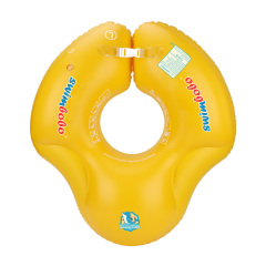 New Upgraded Underarm Float Baby Swimming Float Kids Inflatable Swim Ring with Safety Support Bottom Swimming Pool Accessories  for 3-36 Months