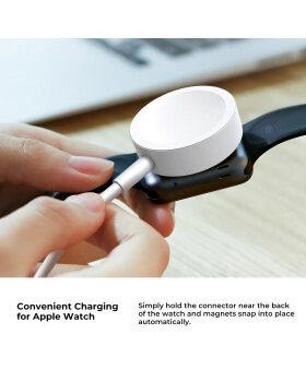 Apple Watch Series 4/3/2/1のすべての38mm / 40mm / 42mm / 44mm用の最新バージョンの時計充電器ワイヤレス磁気iWatch充電USB充電コード