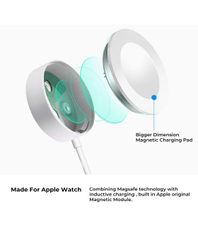 Latest Version Watch Charger Wireless Magnetic iWatch Charge USB Charging Cord for Apple Watch Series 4/3/2/1 for All 38mm/40mm/42mm/44mm