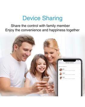 AlexaおよびGoogle Homeで動作するスマートプラグWifiコンセント、4パックミニスマートソケットはどこからでもMi Home APPコントロールを使用、2.4Ghz Wifi、ハブ不要