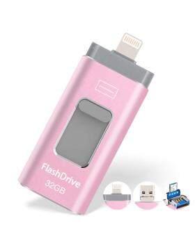 USBフラッシュドライブ32G、USBメモリスティック32GBジャンプドライブサムドライブ3.0フラッシュドライブは、iPhone / iPad / PC / Androidパスワード/タッチIDで保護されたiOS / iPhone用フラッシュドライブに対応