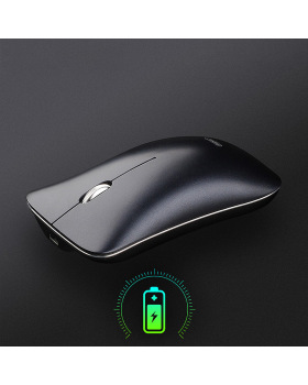 Wireless Mouse, Newest Cordless Fast-Scrolling Ultra Silent Smooth Optical Wireless Mouse with Built-in Battery and USB Nano Receiver for PC Computer Laptop Chromebook Notebook