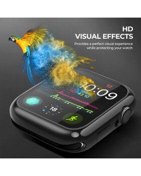 Apple Watchスクリーンプロテクター用ケース[2パック] iWatch 40mmオーバーオールプロテクションHD Clear TPU iwatch 40mmシリーズ4用ソフトカバーケース