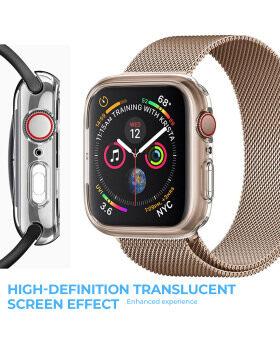 Apple Watch Screen Protectorシリーズ5シリーズ4 44mm、2パックと互換性のあるWolaitケース