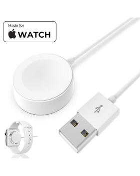Watch Charging Cable Compatible with Apple Watch Series 1/2/3/4 - Magnetic Charging Cable Fast Portable Watch Charger - White