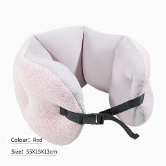 100% Polystyrene Transferable Long Strip U Shape Neck Pillow