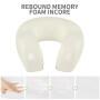 40-50D Density Memory Foam  Travel  Pillow Kit With Adjustable Stripe