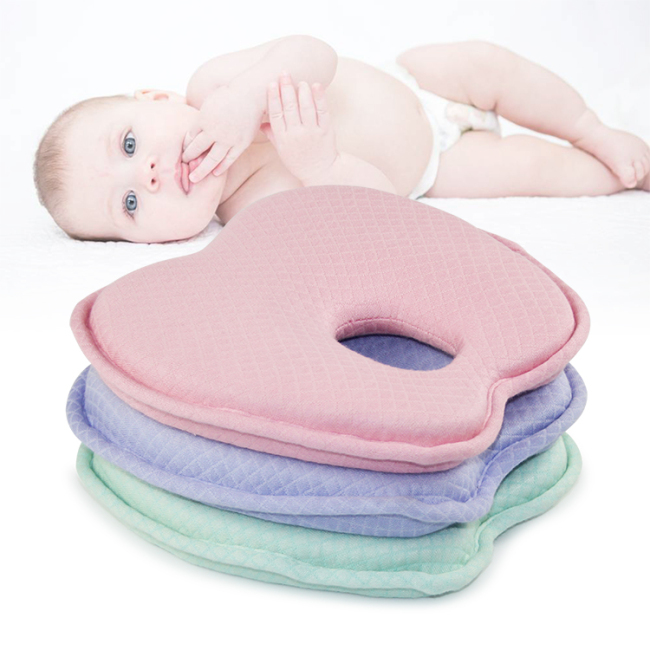 Bamboo Fiber Soft  Memory Foam Baby  Pillow For Newborn Kids Improving Sleep
