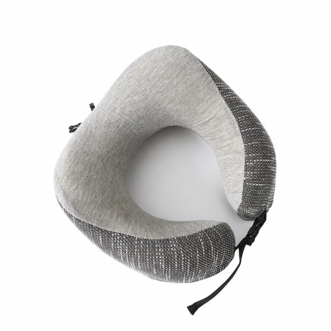 Custom Colorful  U Shape Memory Foam Travel Pillow For Neck Pain Release Travel Sleep Pillow