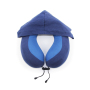 Custom U shape Memory Foam  Hoodie Travel Pillow Protect Your Neck Airplane Sleep Pillow
