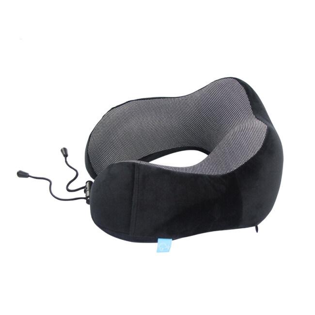 Custom U shape memory foam travel pillow Protect Your Neck