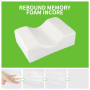 Foot Rest Pregnant Side Sleeper Maternity Leg Memory Foam Orthopedic Knee Pillow