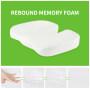 High Quality Memory Foam Orthopedic Seat Cushion For Chair Or Car