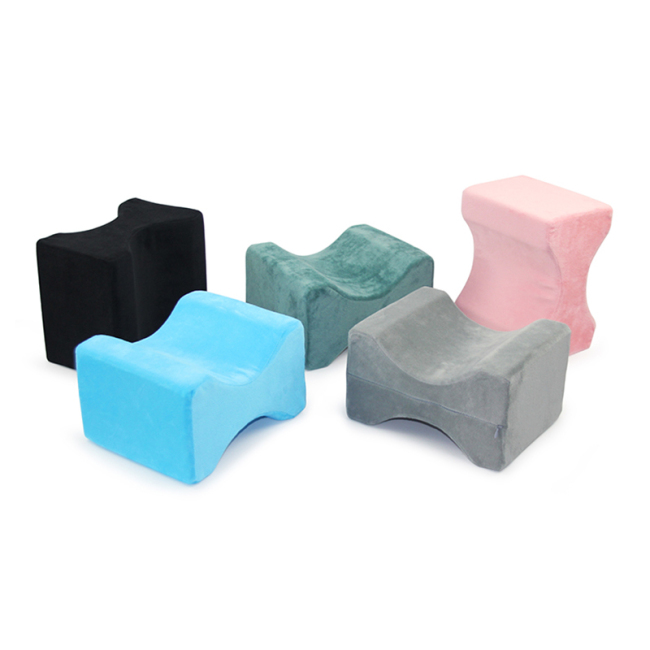 Low price New Design Ergonomic Memory Foam Leg Knee Pillow