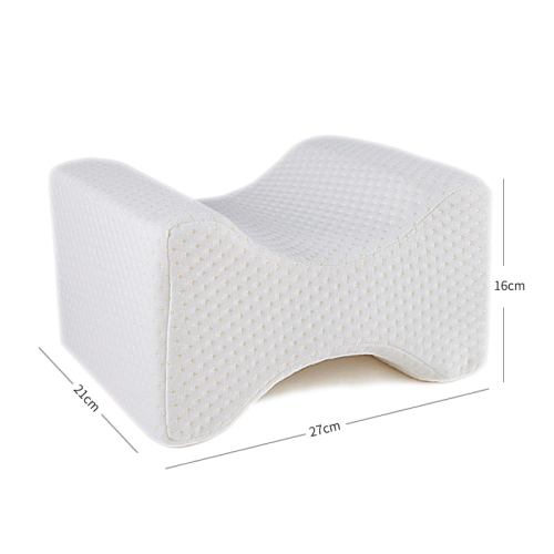Soft Memory Foam Orthopedic Knee Pillow for Sciatica Relief, Back Pain, Leg Pain, Pregnancy,