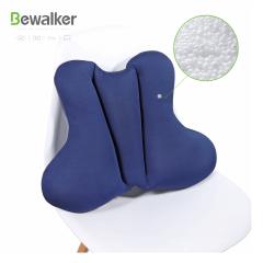 Soft Office  Chair  Lumbar Pressure Release 100% Polystyrene Bead Back Lumbar Cushion  Pillow