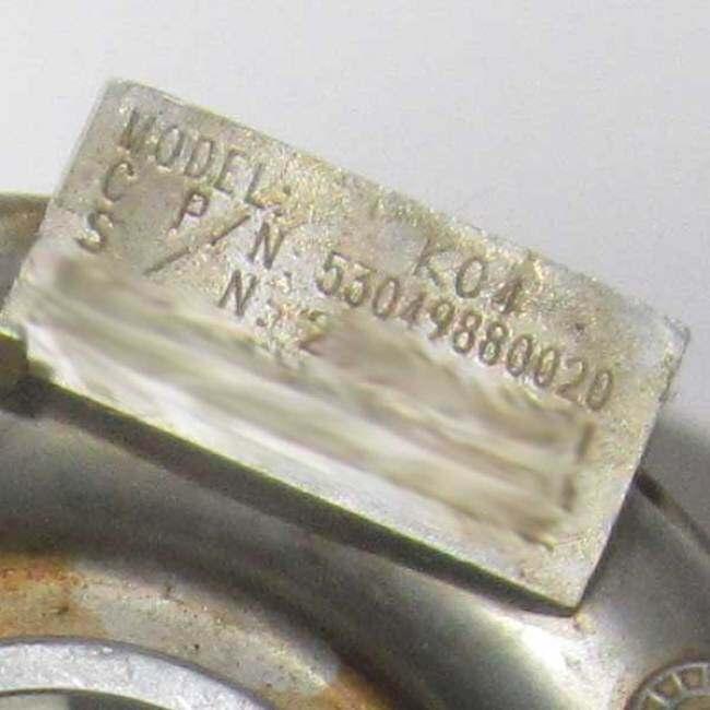Turbocharger K04 53049880020 06A145704M