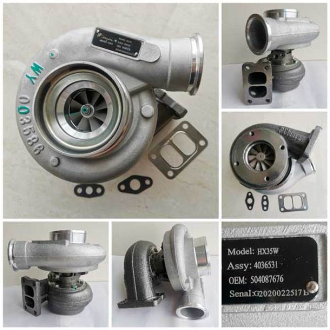 IVECO Truck Eurocargo Turbocharger 504087676 4036531