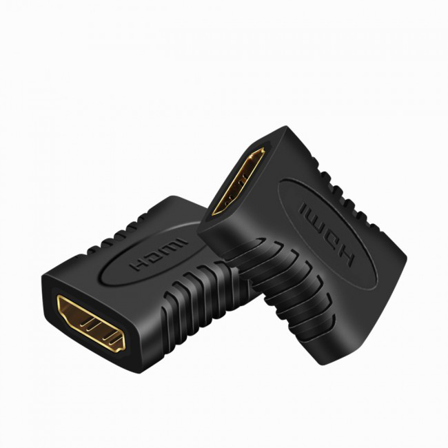 PCER HDMI to HDMI  female to female adapter hdmi Converter HDMI adapter extender
