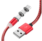 PCER USB Cable Mobile phone Fast Charging USB Type C Cable Magnetic head Data Wire Micro USB Cable cellPhone Cable USB Cord