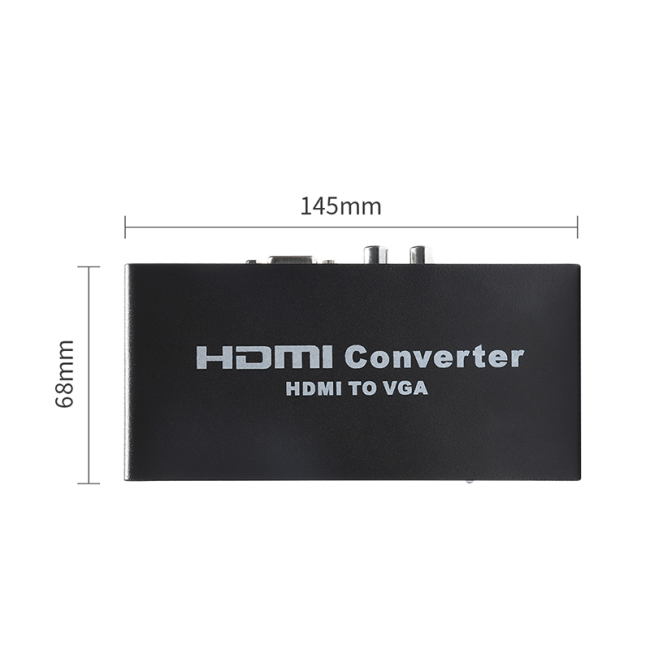 HD Video HDMI to VGA Converter 3D Full HD 1920*1080P 60Hz HDMI to VGA Switcher