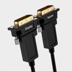 High Speed DVI-D 24+1 Optical Fiber DVI Cable Male to Male 4K 1080P 60Hz DVI Cable