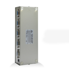 VGA Splitter Converter 1x4 Support 1920*1440 85Hz HD VGA Switcher 1 in 4 out