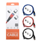 PCER USB Charing Cable for Iphone Xiaomi Samsung Huawei Oneplus Htc phone data cable 3A Fast Charge wire Magnetic USB Cable Cord