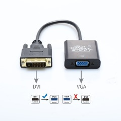 DVI to VGA adapter DVI male to VGA female DVI VGA adapter converter for Computer Display Screen projector tv DVI TO VGA