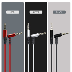 PCER 3.5mm Jack Audio Cable Jack 3.5 mm Male to Male Audio Aux Cable For Samsung S10 Car Headphone Speaker Wire Line Aux