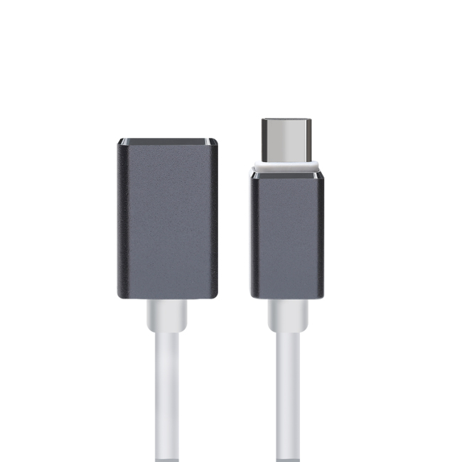 PCER USB C to USB Adapter Type C OTG Cable USB C Male to USB 3.0 A Female Cable Adapter for MacBook Pro Samsung S9 USB-C OTG