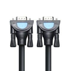 PCER VGA Cable 3+9 foil Shielding VGA To VGA Cable For HDTV PC Laptop TV Box Projector Monitor cable vga cord 1920*1080P