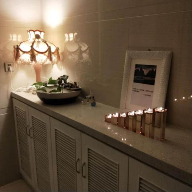 Floor standing crystal candle holder crystal globe candle holder wholesale