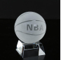 Birthday Gifts Home Decoration Sports Crystal Glass Basketball for Husband