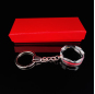Customized fashion new design keychain blank crystal key chain for 3d engraving