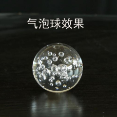 Brilliant crystal air bubble crystal ball glass bubble ball for garden decoration