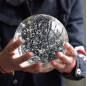 Brilliant crystal air bubble crystal ball glass bubble ball for garden decoration