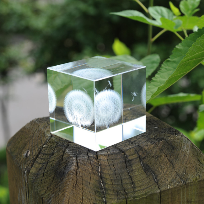 Wholesale Promotion 3D Crystal Cube Graduation Gifts