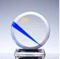 120mm*60mm*165mm Round Cutting Clear K9 Crystal Crystal, CT1160