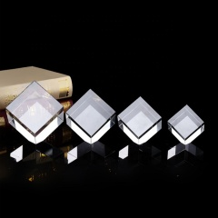 Wholesale optical K9 crystal blank 3D laser engraving cube