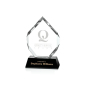 Certificate Frame Customize Cheap Glass Blank Plaques Wholesale Shield Plaque Crystal Trophy Award