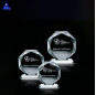 Factory Direct Sell Octagon Shape Decorative Red Crystal Glass Diamond For Paperweight