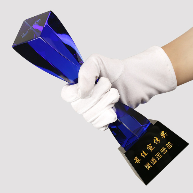 Crystal Clock Crystal Award And Trophies Crystal Clock Trophy