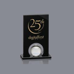 Black Icarus Award  crystal trophy custom wholesale trophy