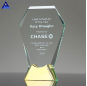 High Quality New Design Best Selling Laser Etched Glass Dome Award Trophy