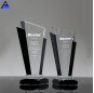 New Design Super Quality Customized Color Crystal Trophy Award Optical Crystal Glass